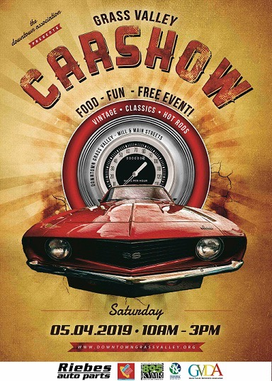Downtown Grass Valley Car Show May 4, 2019