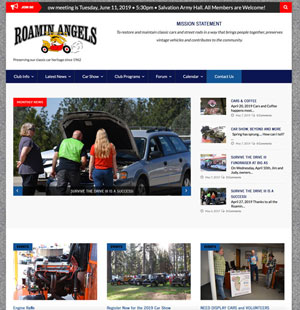 New Roamin Angels Website launching July 2019