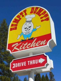 Humpty Dumpty Restaurant in Grass Valley