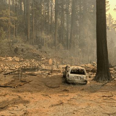 Devastation in Blue River