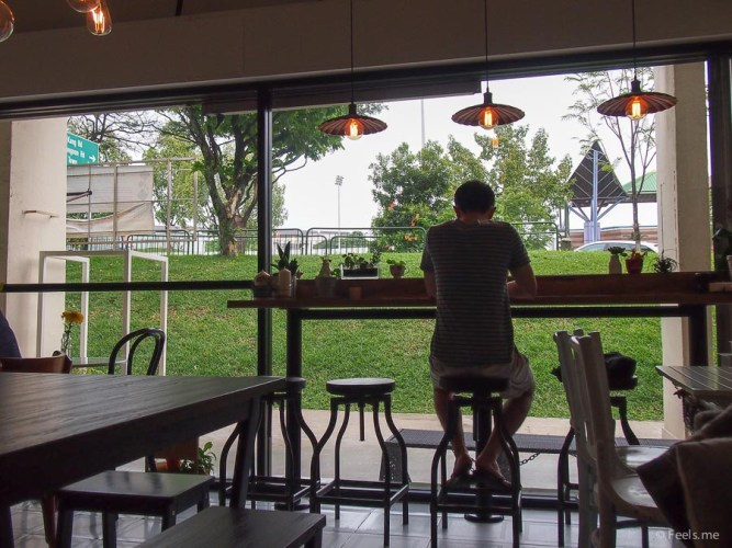 The Plain Jane Cafe - Pretty good location to chill