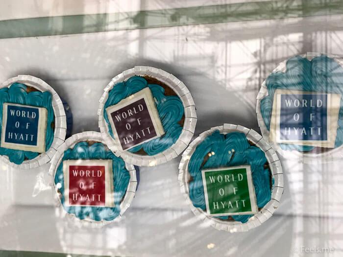Hyatt Regency Kinabalu, Regency Suite World of Hyatt Cupcakes