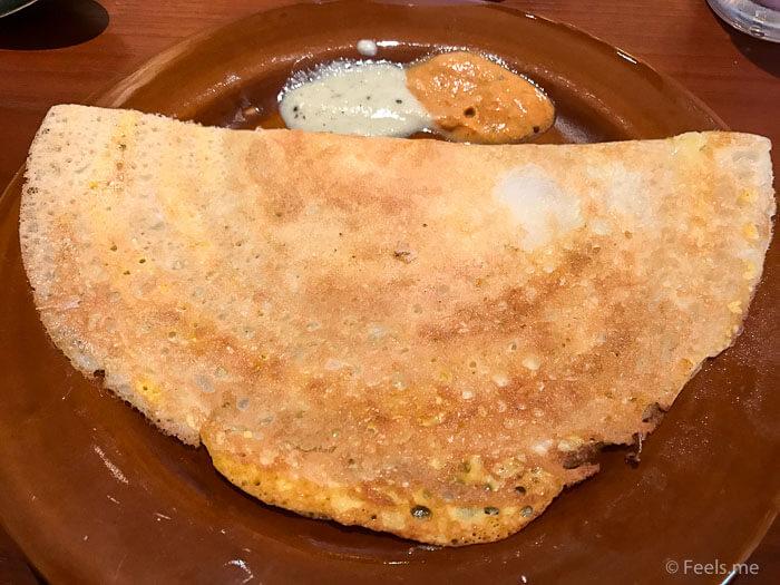 Hyatt Regency Kinabalu Breakfast Chapati