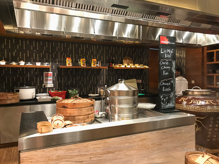DoubleTree JB Makan Kitchen Buffet Breakfast