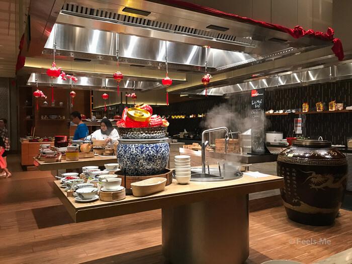 DoubleTree JB Makan Kitchen Buffet Breakfast Noodle corner