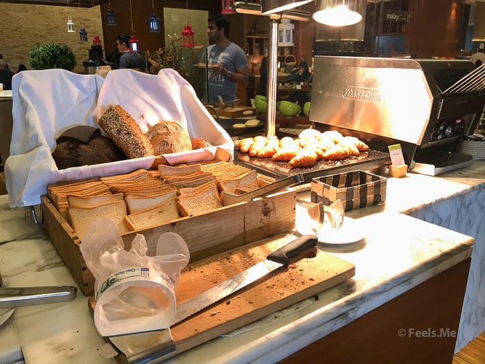 DoubleTree JB Makan Kitchen Buffet Breakfast Pastries