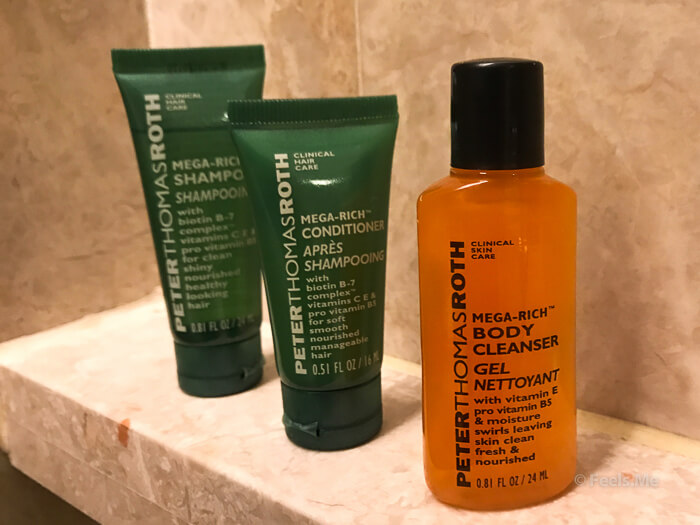Hilton Petaling Jaya KL Peter Thomas Roth shower stuff