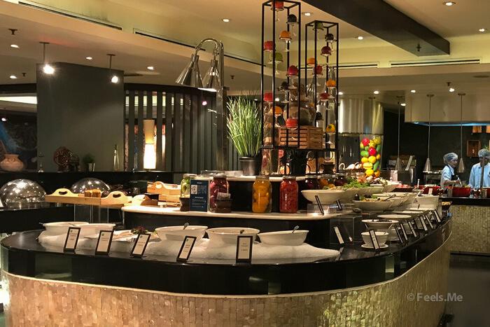 Hilton Petaling Jaya KL Breakfast area