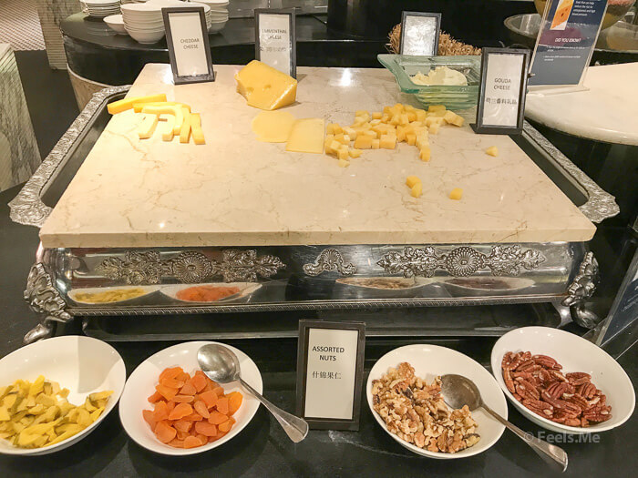 Hilton Petaling Jaya KL Cheese and nuts