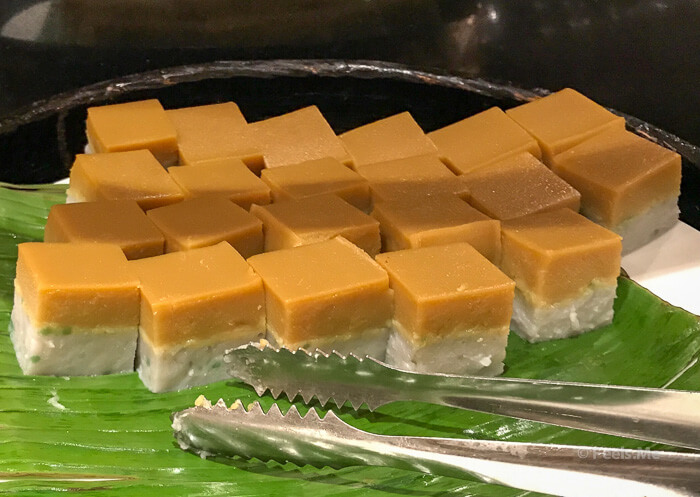 Hilton Petaling Jaya KL Breakfast Rice Cube