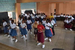 Bachata workshop at St. Joseph Convent Kingstown