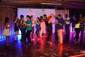 Friday night party at SOV nightclub