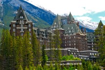 Luxuriating Fairmont Banff Springs Hotel - Canadian