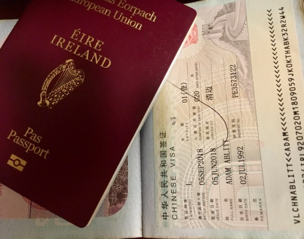 Applying For A Chinese Visa In Chiang Mai The Roaming Irishman