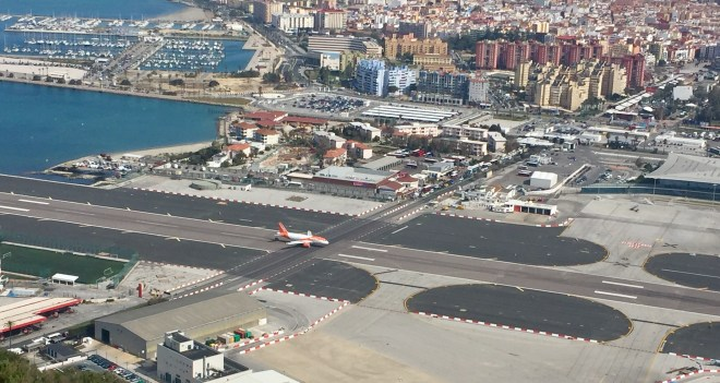 The Runway at Gibraltar Airport