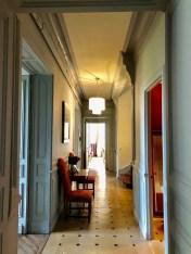 Chateau - hall interior