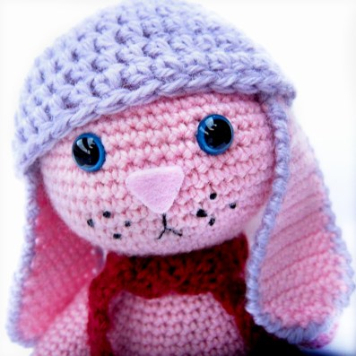 Free Crochet Pattern for a Little Amigurumi Bunny, So Adorable! | 397x397