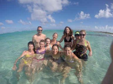 As you do in the BVI...smile