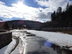 Cut Face Creek in March