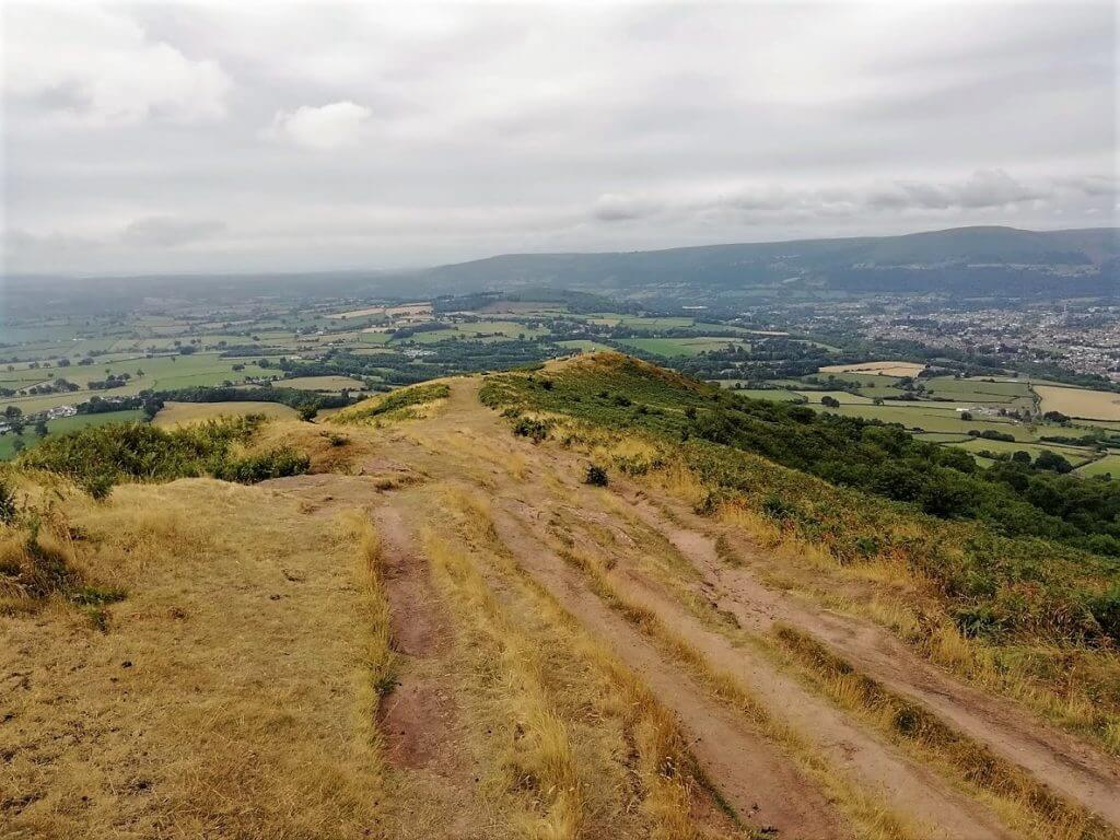 Skirrid Mountain Walk. Black Mountains. Monmouthshire. Wales