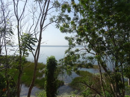 View of Lake Peten-Itza from Hotel Room