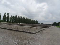 Dachau Concentration Camp: Where the old buildings used to stand