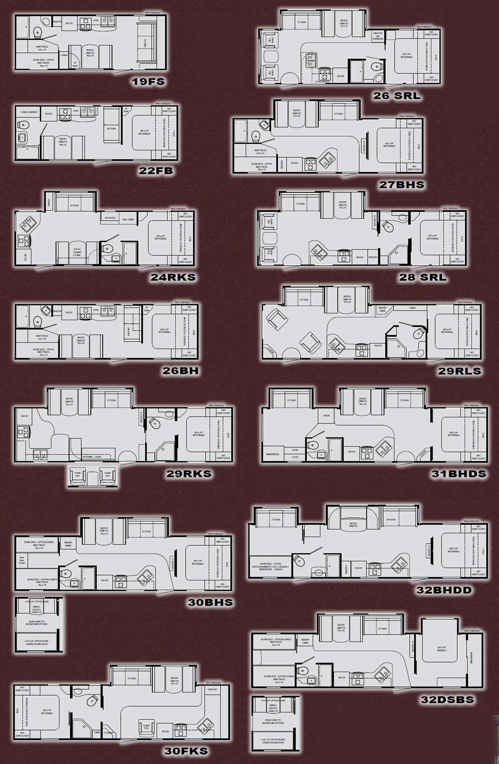 motorhome wiring diagram banshee motor heartland north country travel trailer floorplans - large picture