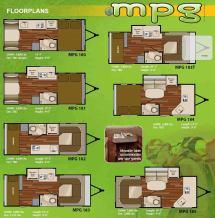Heartland MPG Travel Trailer Floor Plans