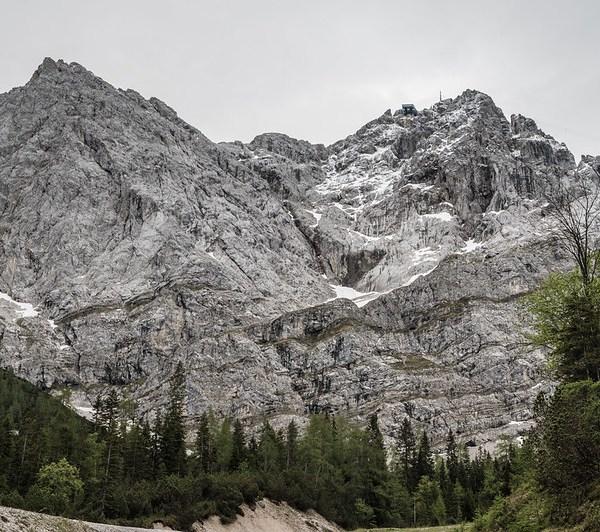 Climbing Zugspitze