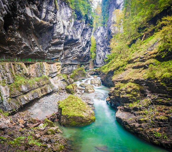 Breitachklamm Gorge
