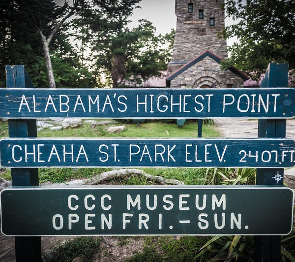 Cheaha Mountain Alabama