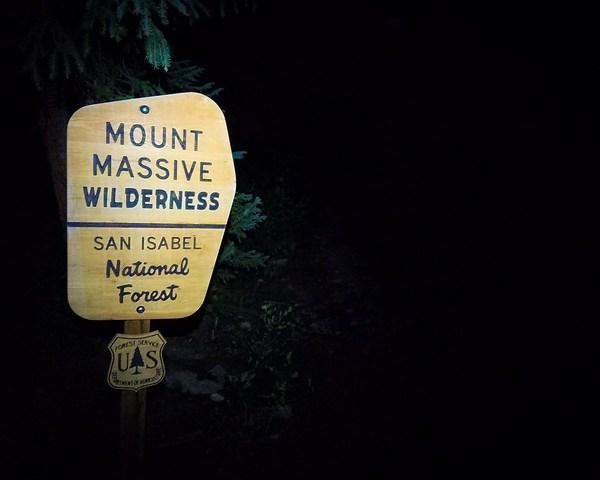 Climbing Mount Massive