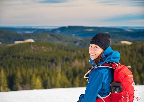 Snowshoeing Mt Feldberg