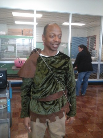 Stephen as Robin Hood