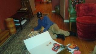 Stephen creating