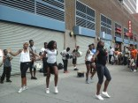 Athletic Dancers in Harlem