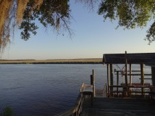 Boat house on the Little Satilla River.