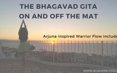 The Bhagavad Gita On and Off the Mat