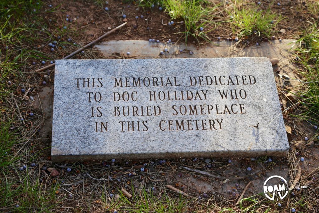 Apparently, there is a definite concern of grave robbing.  They make a big point that Holiday, similar to Schrodinger's cat, is here but also isn't here.