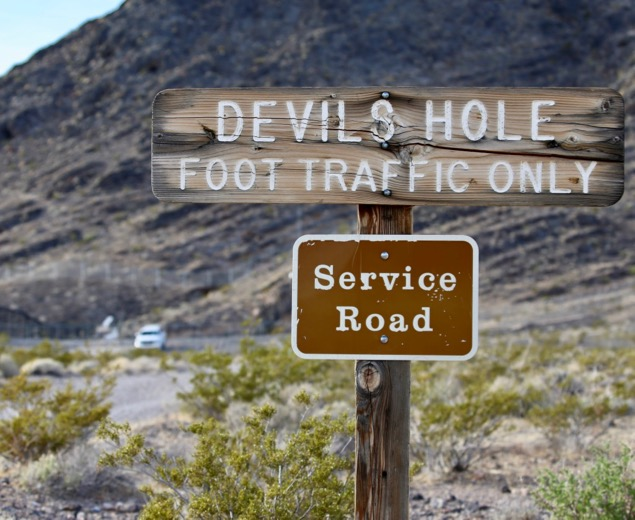 Devil's Hole, Nevada