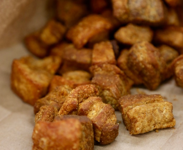 Louisiana boudin and cracklings