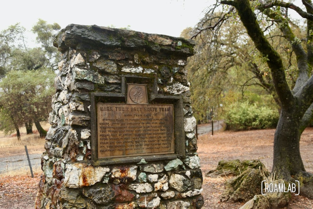 """The Mark Twain Cabin on Jackass Hill, Tuttletown, California was home to Samuel Clemens while writing """"The Celebrated Jumping Frog of Calaveras County"""""""