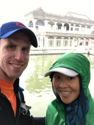 A not-so summery day at the Summer Palace.