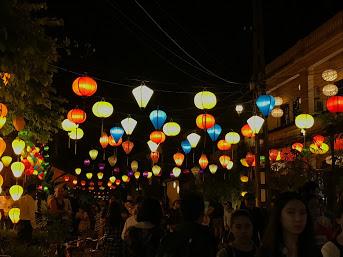 Lanterns in Old Town.