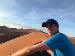 Enjoying the dunes.