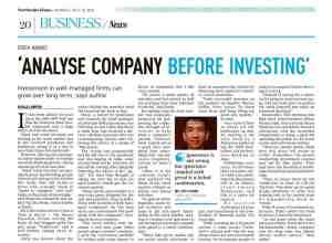 Analyse Company Before Investing
