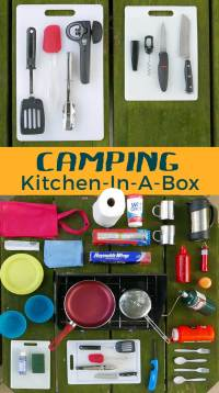 Camp Kitchen in a Box - Roamworthy.com