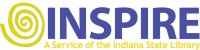 Inspire- a service of the Indiana State Library logo