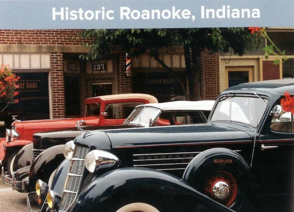 A historic Roanoke Indiana car show photo