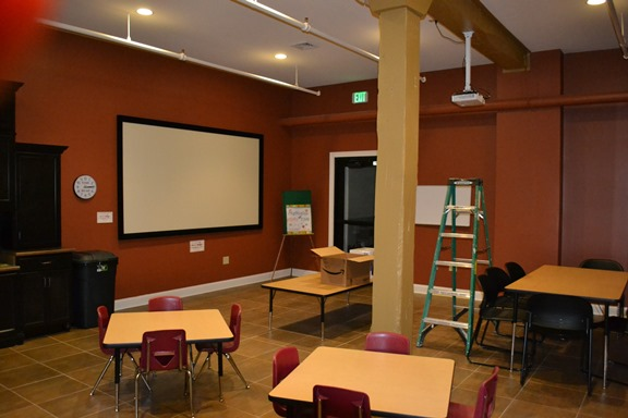 Roanoke Public Library's Meeting Room Picture